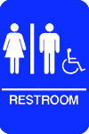 ADA Sign/Restroom/Handicapped Accessible