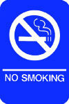 ADA Sign/No Smoking