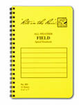 Rite in the Rain Side-Spiral Notebooks with Numbered Pages