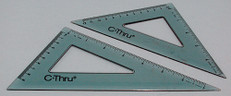 C-Thru KT-90 Plastic Triangle Set from CSP Outdoors