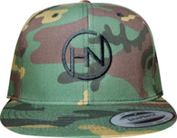 Camo Snapback with HN Logo