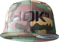 Camo Snapback with HOK9