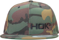 Camo Snapback with Small HOK9