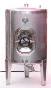 Stainless Steel Tank - 260Lt. side door
