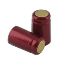 Maroon Shiny PVC Capsules