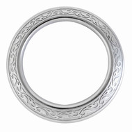Jeremiah Watt Horse Shoe Brand Hardware Engraved Breast Collar Ring Plain