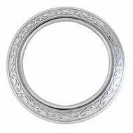 Jeremiah Watt Horse Shoe Brand Hardware Engraved Breast Collar Ring Plain