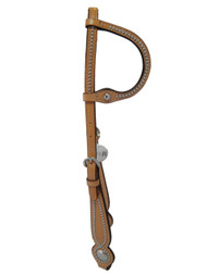 Billy Cook Saddlery Western One Ear Headstall Spotted