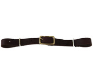 Billy Cook Saddlery Latigo Leather Round Buckle Curb Strap