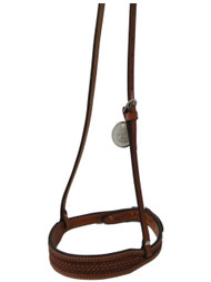 Billy Cook Saddlery Basket Stamp Noseband