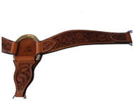 Billy Cook Saddlery Roper Breast Collar Sheridan Floral Tool