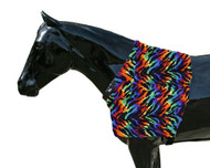 Sleazy Sleepwear for Horses Print Shoulder Guards