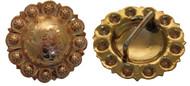 Hansen Western Gear Yuma Berry Brass Concho Loop Pair