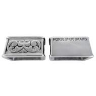 Jeremiah Watt Horse Shoe Brand Hardware Loops Silver