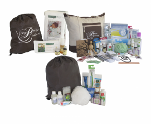Posh, Baby and Dad Hospital Bags