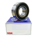 3302B-2RSTN - NSK Double Row Angular Contact Bearing - 15x42x19mm