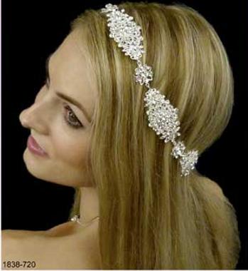 LC Bridal 1838-695 - Austrian Crystal Rhinestone Headband