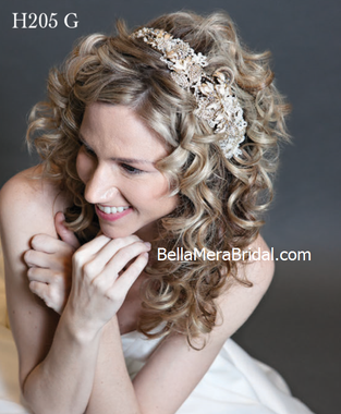 Giselle Bridals Headpiece H205G - 120