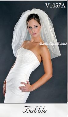 Giselle Style V1037-A - Bubble Veil