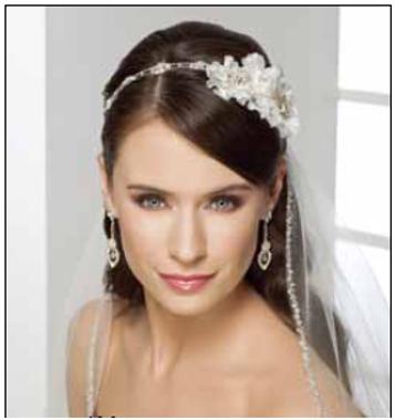 Bel Aire Bridal Accessory  6239 Headband