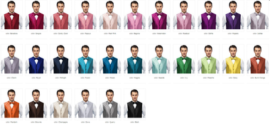 Just showing for color (one cravat only included)