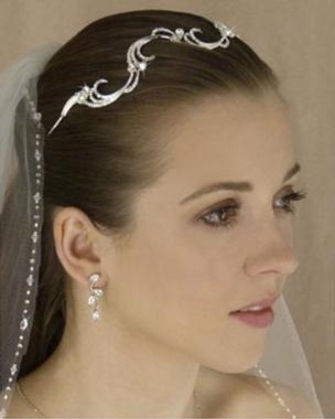 LC Bridal Tiara Style 1788 - Austrian Rhinestones