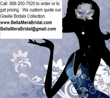 Giselle Bridal Veil Style SP287 - Wedding Veil