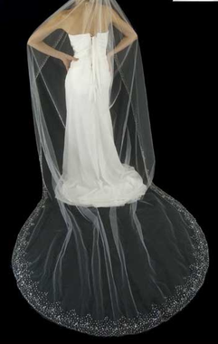 LC Bridal Style V2290 - 108 Inches - Cathedral Veil