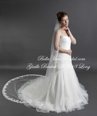 Giselle Bridal Veil Style SP218 - Cathedral Length
