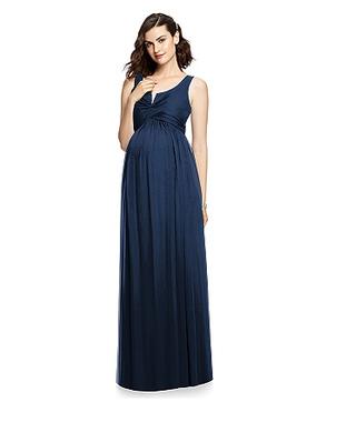 Dessy Maternity Bridesmaids Style M424 by - Lux Chiffon