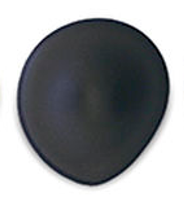 Tear Drop Black Seamless Breast Cups - Size A