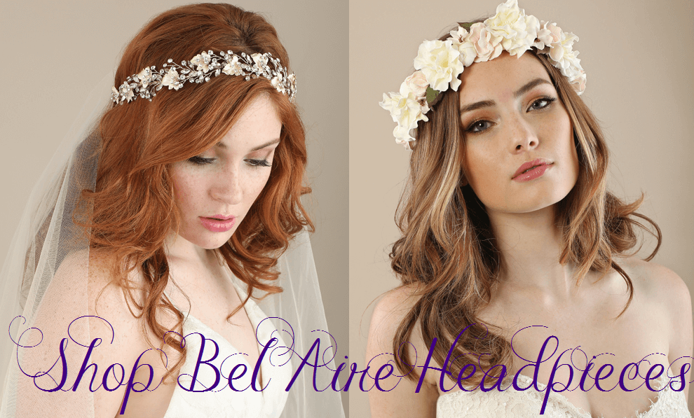 Bel Aire Wedding Veils, Bel Aire Headpieces, Bel Aire Headbands, Bel Aire Jewelry, Wedding Veils, Bridal Accessories