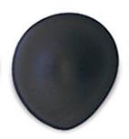 Tear Drop Soft Black Seamless Bra Cups - Size B