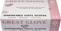 Great Glove - Powder-Free Vinyl Gloves - Case