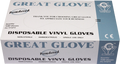 Great Glove - Lightly Powdered Vinyl Gloves - Case