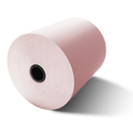 "3 1/8"" x 230' Pink Thermal Paper (50 Rolls)"