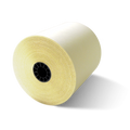 "3"" x 90' White/Canary 2-Ply Carbonless Paper (50 Rolls)"