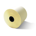 "2 3/4"" x 95' White/Canary 2-Ply Carbonless Paper (50 Rolls)"