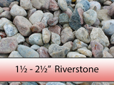 "1 1/2"" - 2 1/2"" Colourful Riverstone"