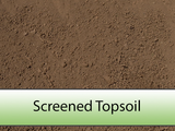 Screened Soil