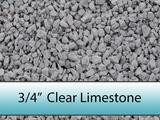 "3/4"" Clear Drainage Limestone"