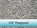 "Peagravel 3/8"""