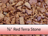 "3/8"" Red Terra Stone"