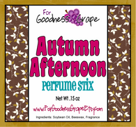 Autumn Afternoon Solid Perfume Stick