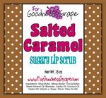 Fleur de Sel Salted Caramel Sugary Lip Scrub