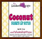 Coconut Sugar Lip Scrub