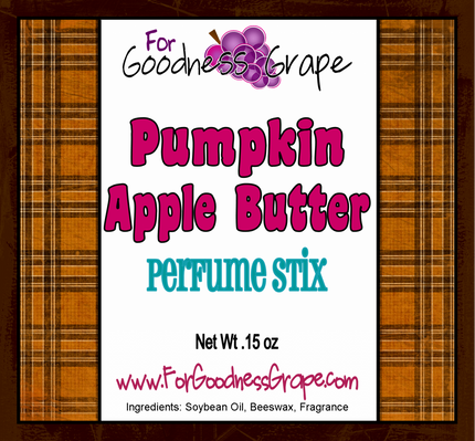 Pumpkin Apple Butter Solid Perfume Stick