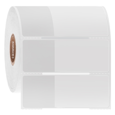 Wrap-Around Labels for Cryogenic Use - 25.4 x 25.4 + 43.7mm wrap #HBTT-317NOT