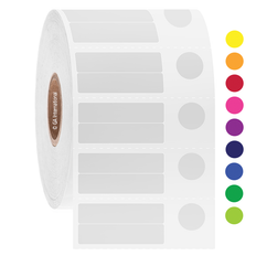 Cryo Barcode Labels - 30mm x 7.1mm + 9.4mm  #JTT-124