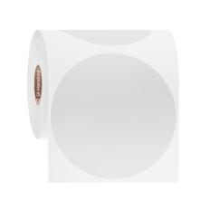 Cryo Barcode Labels - 79.4mm circle #JTTA-156NP